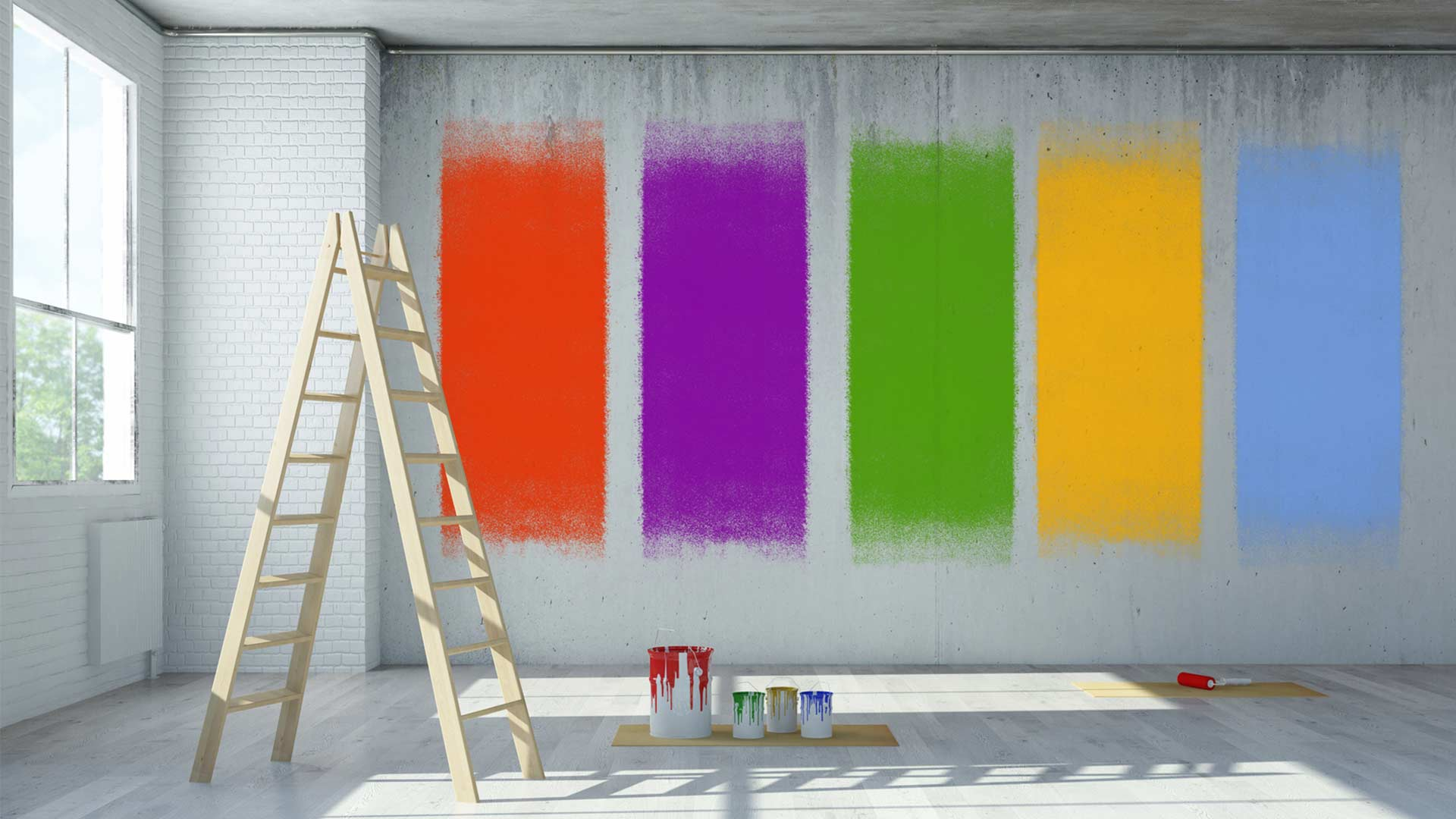 Malerarbeiten, Fliesenarbeiten & Renovierung
